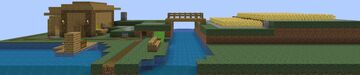 Basic but useful, beautiful and expandable survival house Minecraft Map & Project
