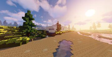 Plane Crash / Survival map. Minecraft Map & Project
