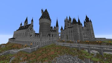 Hogwarts Map: Ultimate Project (Hogwarts - Perfect Recreation) V3 Minecraft Map & Project