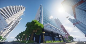 Lucent Tower (Nagoya, Japan) Minecraft Map & Project