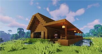 Simple house Minecraft Map & Project