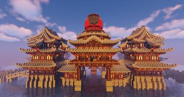 中國風格.日式風格.幻想. Chinese style. Japanese style.fantasy. Minecraft Map & Project