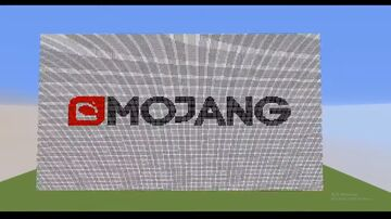 Build Mojang Logo on my own server!!!👍 Minecraft Map & Project