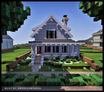 Small Traditional Style House | WOK Minecraft Map & Project