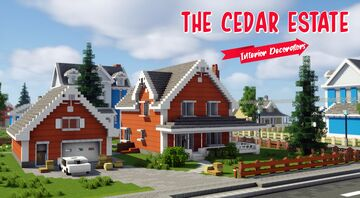 Interior Decorators - The Cedar Estate Minecraft Map & Project