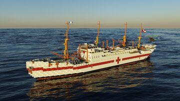 MS Jutlandia Hospital Ship Minecraft Map & Project