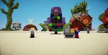 Bob Esponja o que e natal Minecraft Map & Project