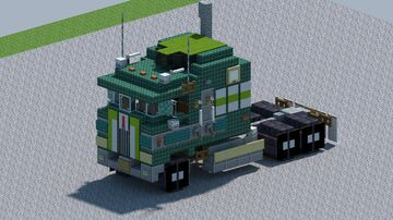 Kenworth K100 Aerodyne [With Download] Minecraft Map & Project