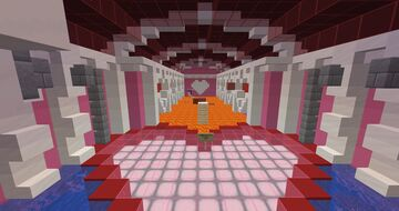 Valentines Parkour Minecraft Map & Project