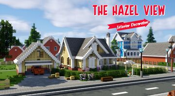 Interior Decorators - The Hazel View Minecraft Map & Project