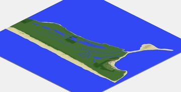 Ocean Shores, Washington Minecraft Map & Project