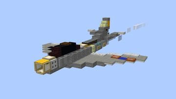 F-86A Sabre - 1.5:1 Minecraft Map & Project