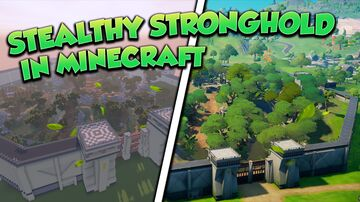 Fortnite - Stealthy Stronghold Minecraft Map & Project
