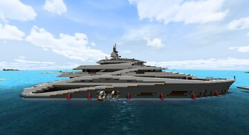 Yacht Promethium Minecraft Map & Project