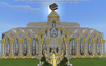 Golden Library Minecraft Map & Project
