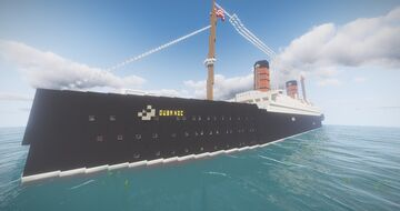 RMS Qubanic (Cunard Line Edition) [UPDATED] Minecraft Map & Project
