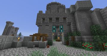 WestGate Castle Minecraft Map & Project