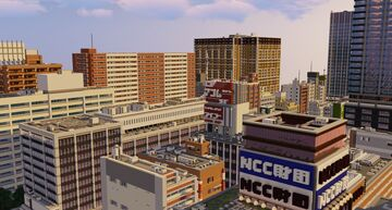 【Version update!】Japanese style city Kyokei City Ver1.5.2 Minecraft Map & Project