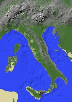 Italy Minecraft Map & Project