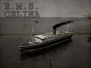 RMS CELINA (1920) [FULL INTERIOR] Minecraft Map & Project