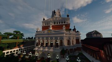 Opera renaissance beaux-arts Minecraft Map & Project
