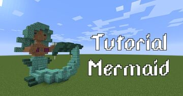 Mermaid Minecraft Map & Project