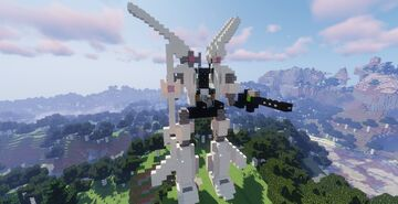 Exo-Force Stealth Hunter Minecraft Map & Project