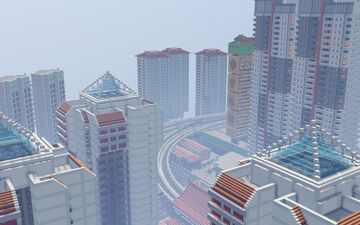 Sijopolis - Singapore Inspired Minecraft City (Early Progress) Minecraft Map & Project