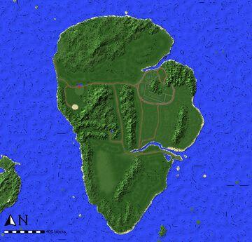 isla nublar 1993 1:4 1.12.2 Minecraft Map & Project