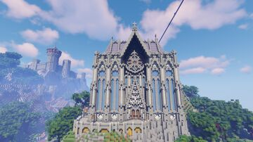 LightHeart - Cathedral of the Grey Order Minecraft Map & Project