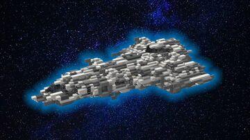 Eagle class corvette Minecraft Map & Project