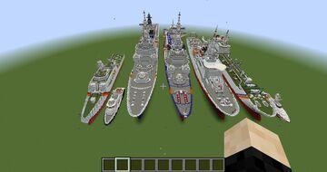 coast guard ships Minecraft Map & Project