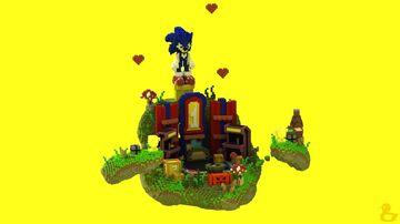 Sonic Arcade Lobby Minecraft Map & Project