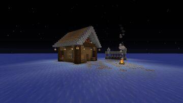 Frozen Lack - House Minecraft Map & Project
