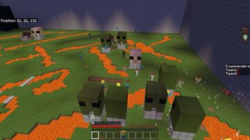 RTS Test Minecraft Map & Project