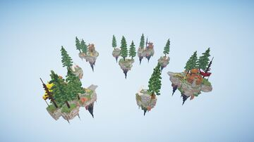 Forest of the Orks - Bedwars Map Minecraft Map & Project
