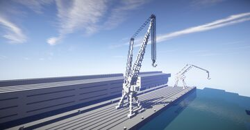 Harbour Crane #2 Minecraft Map & Project