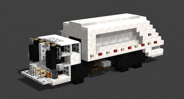 NYC Garbage Truck Minecraft Map & Project