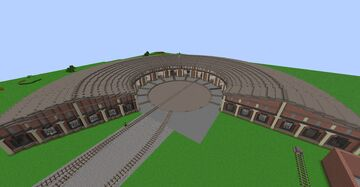 HRL - Allentown Roundhouse Minecraft Map & Project