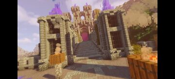 Nether Portal Fortress! Minecraft Map & Project