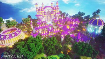 City Skyblock Island Minecraft Map & Project
