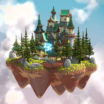 SkyWars Spawn Minecraft Map & Project