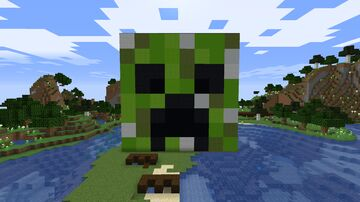 Creeper farm outside Minecraft Map & Project