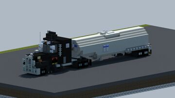 "Mack RS700l From the movie ""Convoy"" [With Download] Minecraft Map & Project"