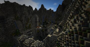 TamrielCraft - Markarth of Skyrim Minecraft Map & Project