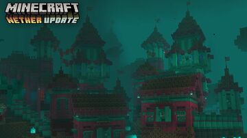 New 1.16 Nether Castle Minecraft Map & Project