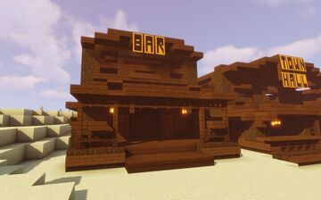 Bar (Survival Server) Minecraft Map & Project