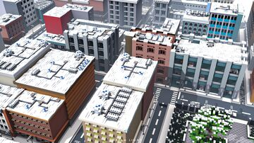 Snowy City Minecraft Map & Project