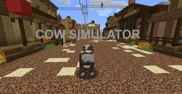 Cow sim V4 Minecraft Map & Project