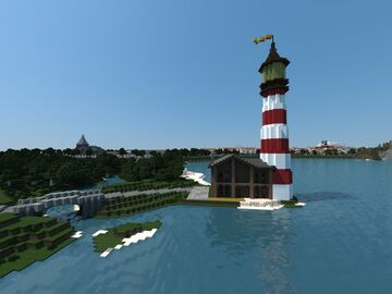 Eaglepoint Lighthouse | Mineopolis and the Countryside Minecraft Map & Project